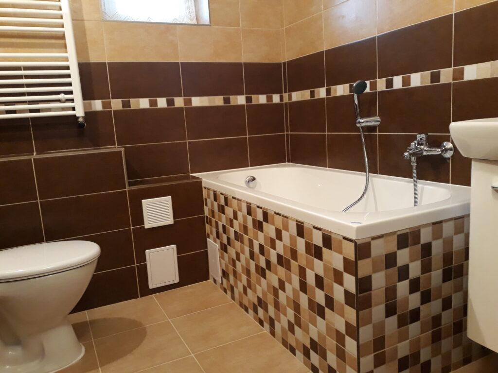Apartmán kúpeľňa